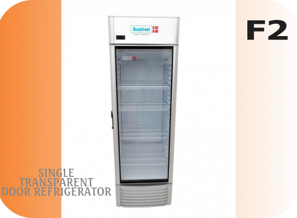Single Transparent Door Refrigerator