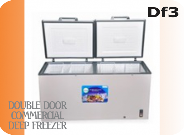 Double Door Commercial Freezer