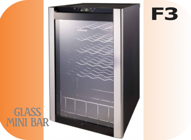 Glass Mini Bar