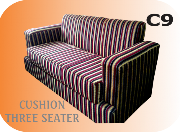 Cushion Three Seater